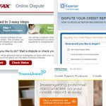 Como hacer una disputa de un Error en su reporte de crédito ( Con Equifax, TransUnion y Experian)