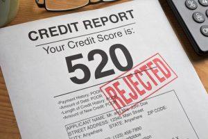 Calificacion de credito malo