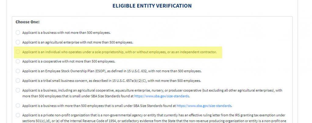 Si usted es un trabajador independiente o contratista puede ser elegible para un grant por $1000 del gobierno